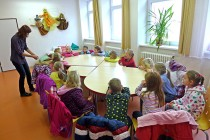 Předškoláci v knihovně – slůně