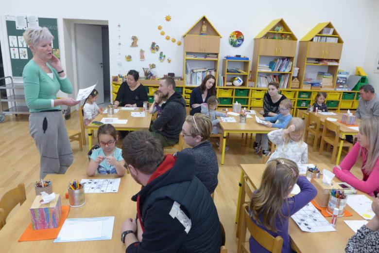 Ukázková hodina pro rodiče předškoláků